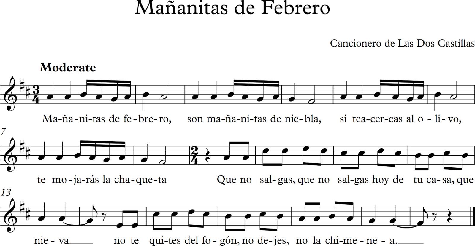 Descubriendo La Música Partituras Para Flauta Dulce O De Pico