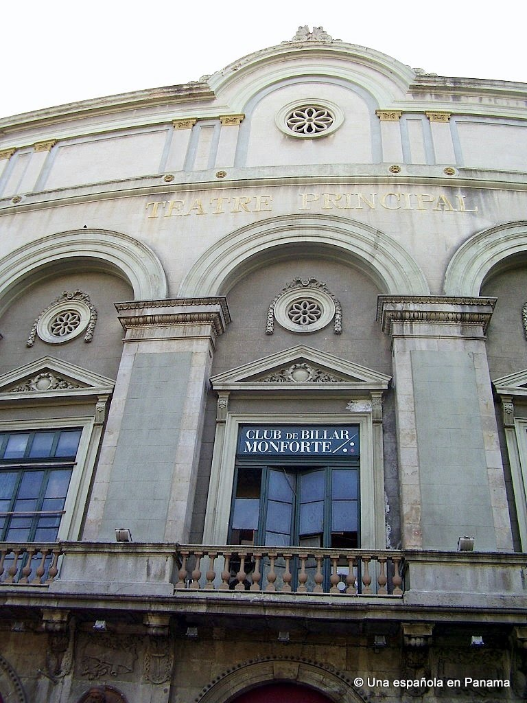 teatro principal ramblas