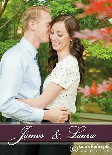 Utah Wedding Invitations U2022 Photo Wedding Invites U2022 5x7 Wedding Announcement  U2022 Wedding Inserts U2022 Photo Inserts