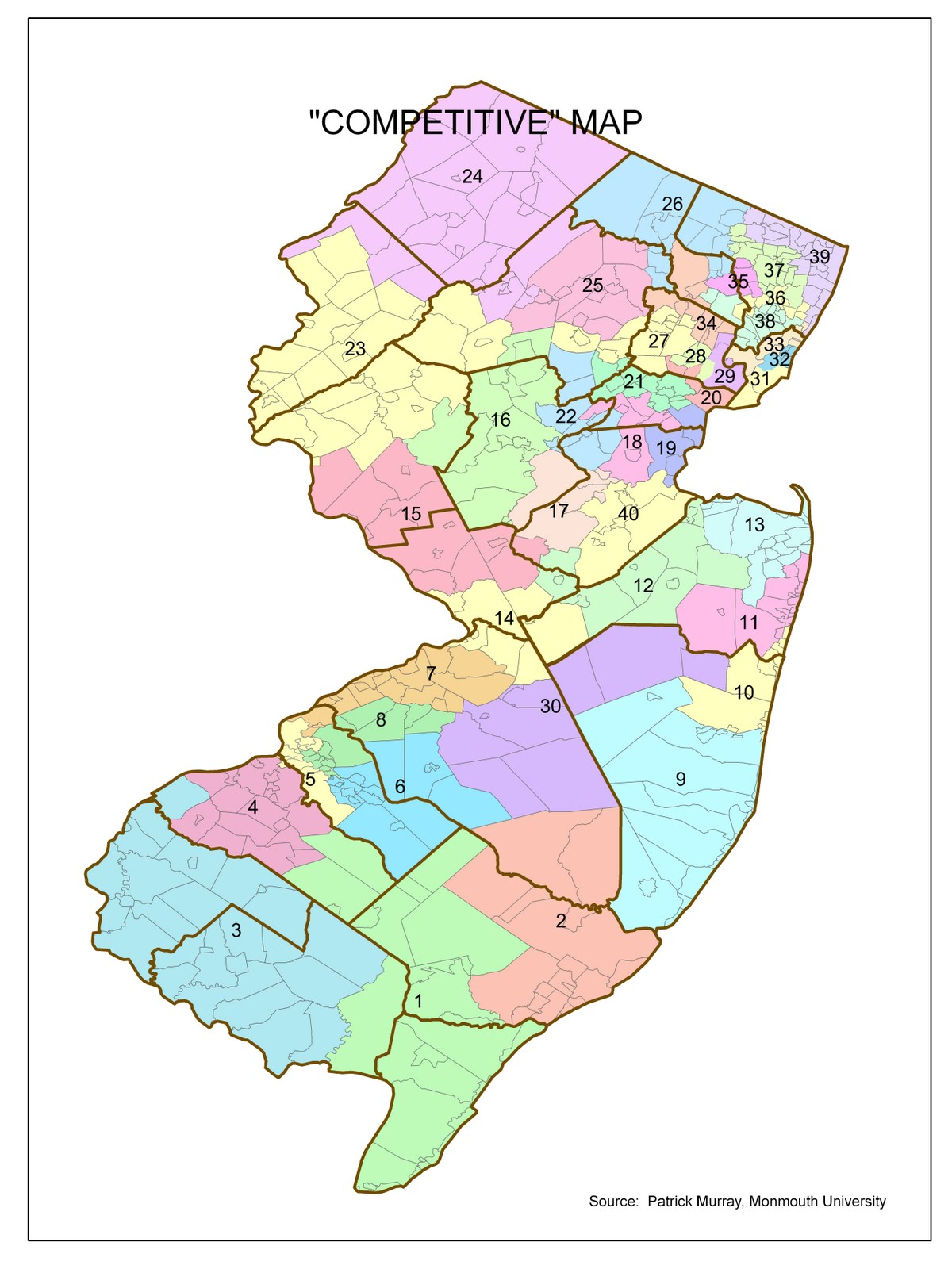 in each district 3 description of district characteristics in the proposed map and 4 description of district characteristics in the current map