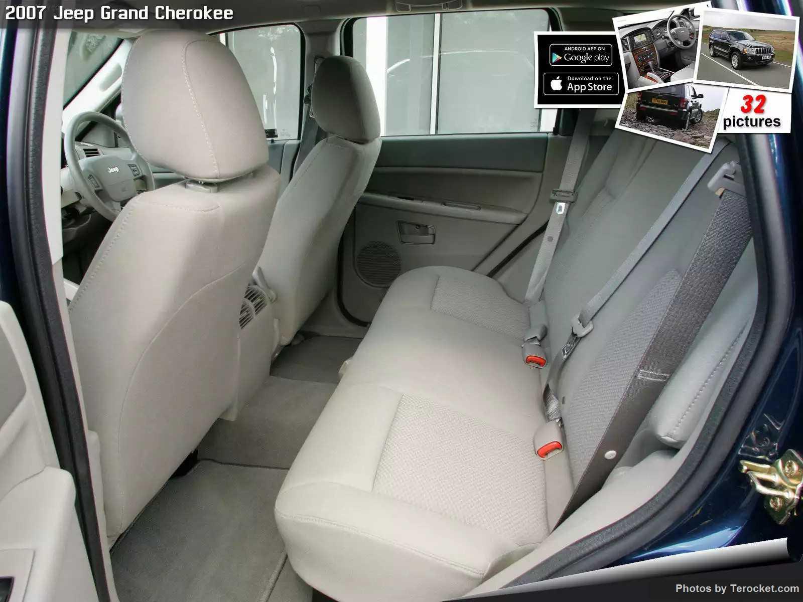Hình ảnh xe ô tô Jeep Grand Cherokee UK Version 2007 & nội ngoại thất