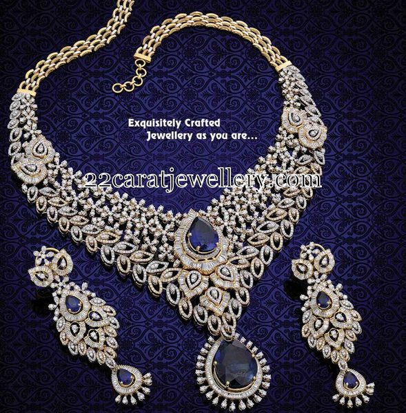 Exclusive Diamond Set by Mahalaxmi Jewels