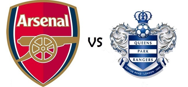 Arsenal vs QPR 27 Oktober 2012