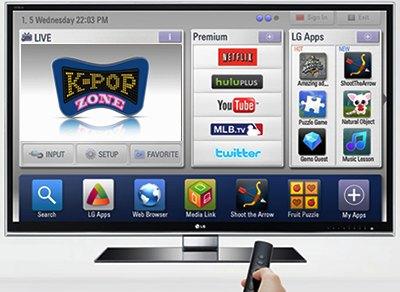 LG CINEMA 3D Smart TV K-POP ZONE
