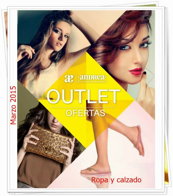 Catalogo Andrea Outlet Marzo 2015