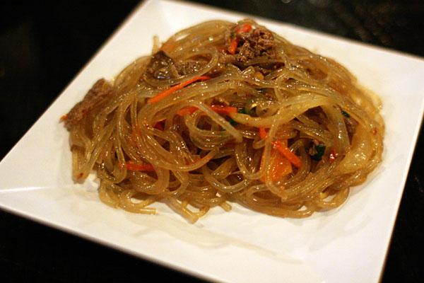 Korean Stir-fry Glass Noodles (Happy Call)