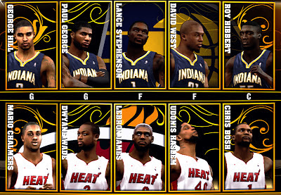 NBA 2K13 Roster w/ Updated Accessories
