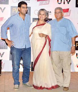 Deepika, Ranbir Kapoor and Celbs at Yeh Jawaani Hai Deewani Screening