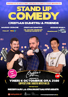 Stand-Up Comedy Sambata 16 Septembrie  Bucuresti
