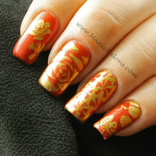 Messy Mansion MM07 stamping