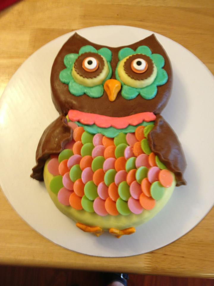 Easy Owl Cake Design : Easy Owl Cake Ideas 85541 More Owl Cakes I Want To Try A S