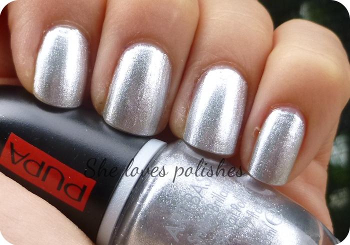 Smalto argento pupa colori per dipingere sulla pelle - Smalto a specchio ...
