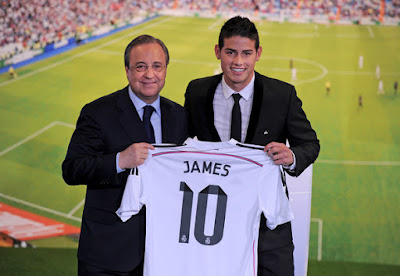 Rafa Benitez-Real Madrid -James