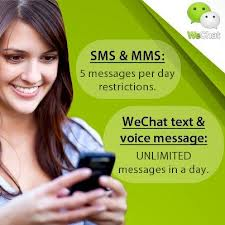 WeChat-BUlk sms and MMS with no restrictions