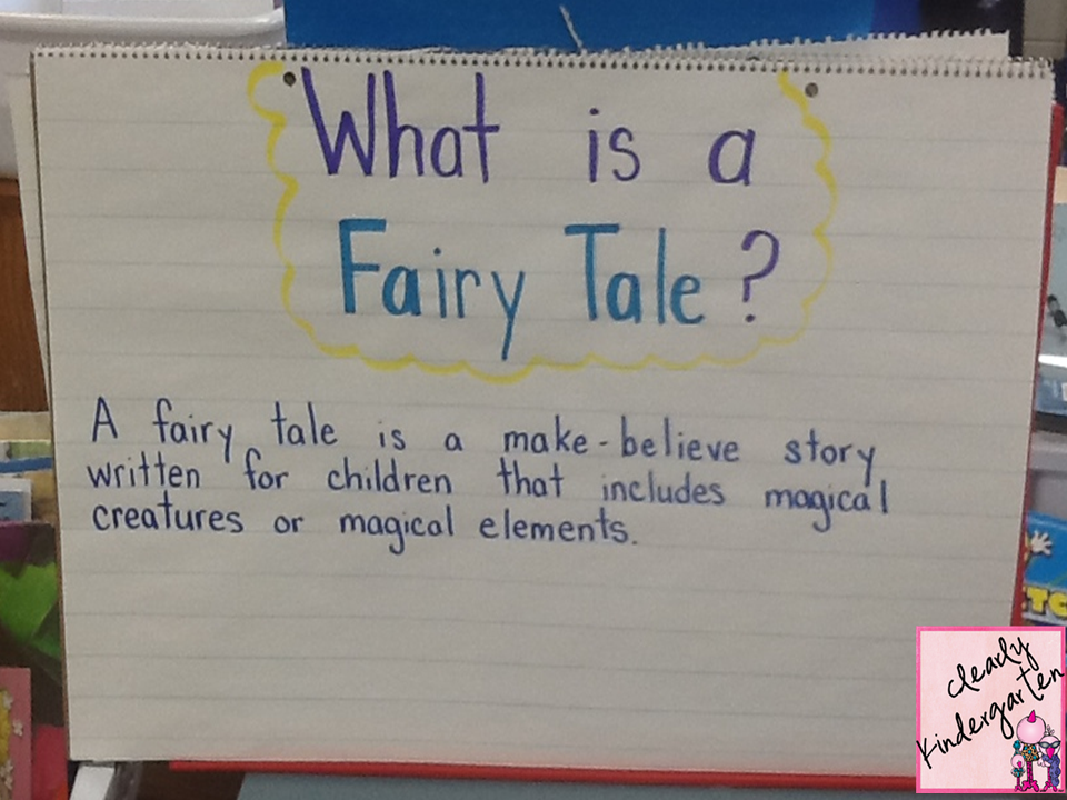 Clearly kindergarten fairy tale fun for Tale definition