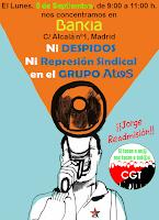 Ni Despidos ni Represión Sindical en el Grupo AtoS