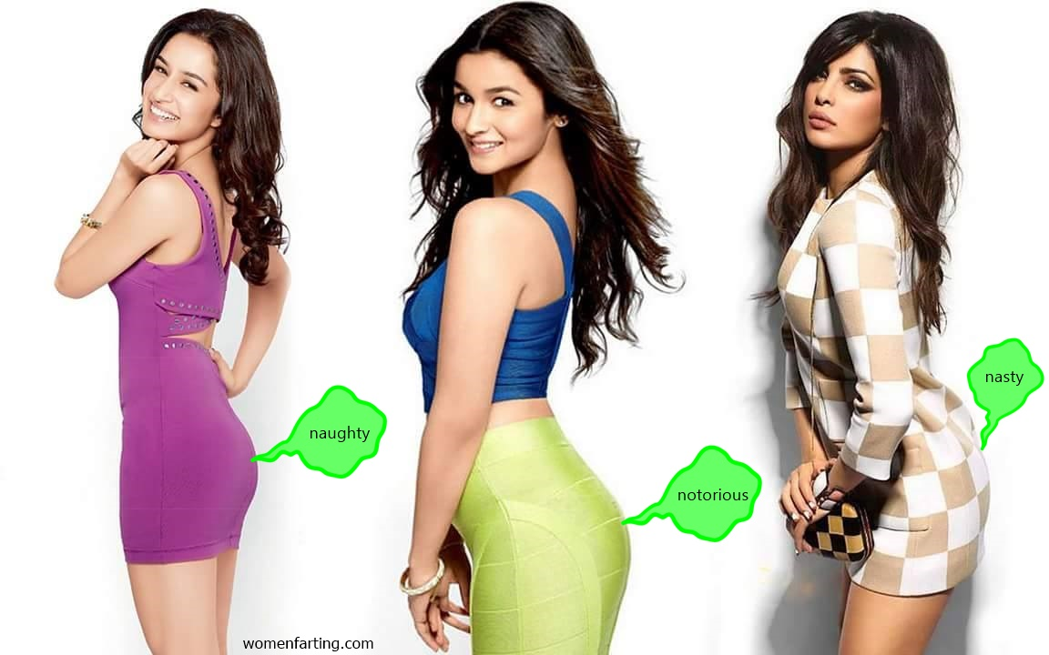 Bollywood Actresses Farting Fantasy