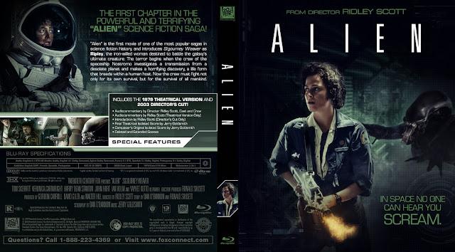 Capa Bluray Alien