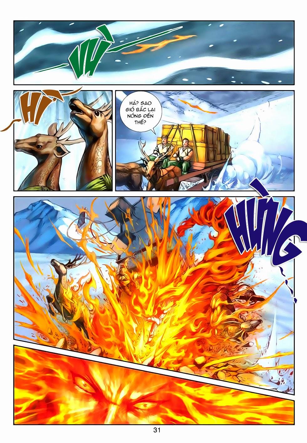 Thần Binh Tiền Truyện 4 - Huyền Thiên Tà Đế chap 5 - Trang 31
