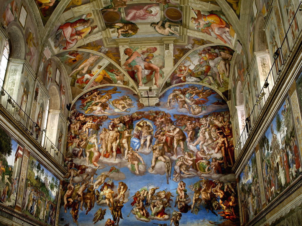 Who Are The People In Michelangelo S Sistine Paintings