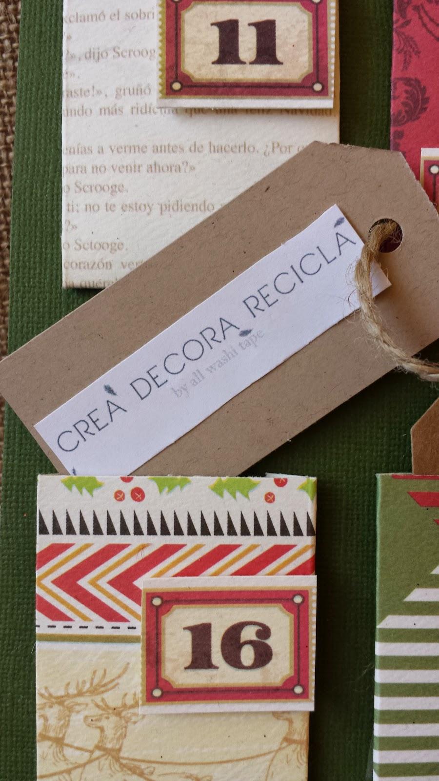 Paraiso de papel scrapbook en espa a calendario de - Crea decora y recicla ...