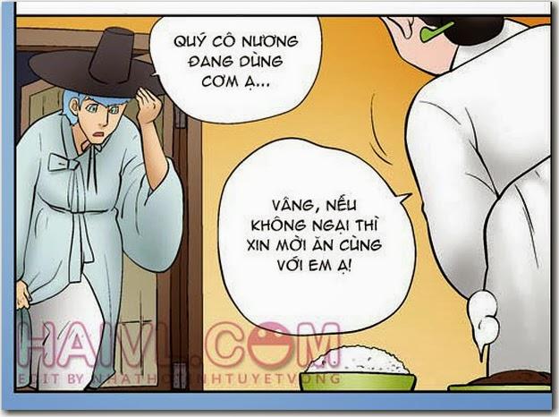 Kim Chi Củ Cải phần 878 - Chuyện Ăn Xương. Đọc truyện tranh kim chi và củ cải tại thugian180