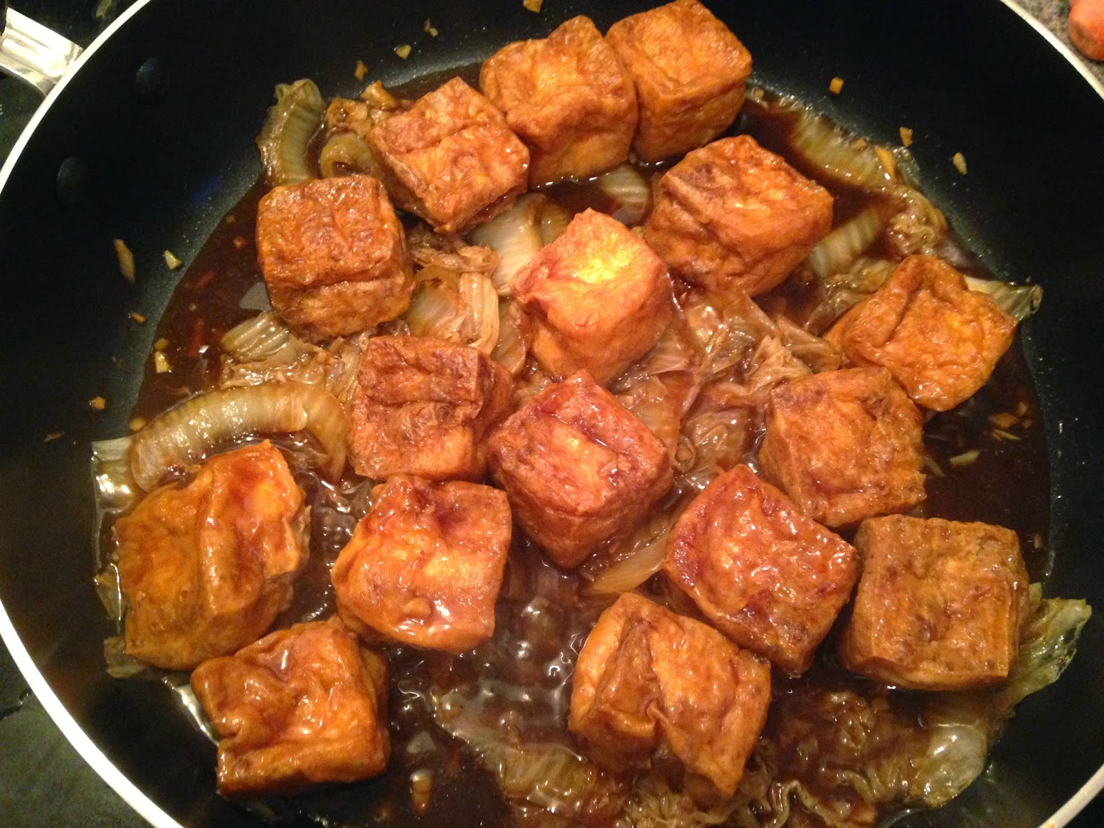 Frugal Allergy Mom: Chinese Braised Stuffed Tofu