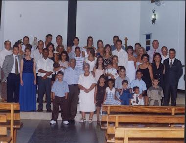 Bodas de ouro de meus pais, Armindo e Maria, em 1999.
