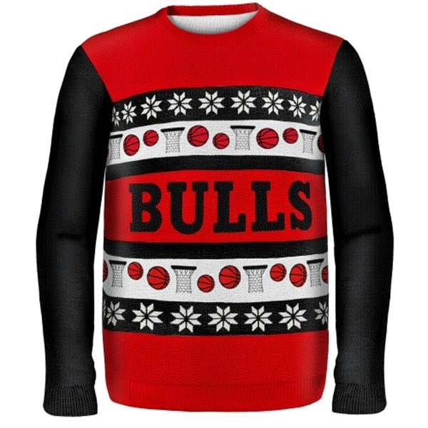 Chicago Bulls NBA Ugly Sweater
