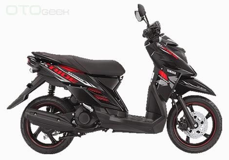 gambar motor yamaha x ride merah