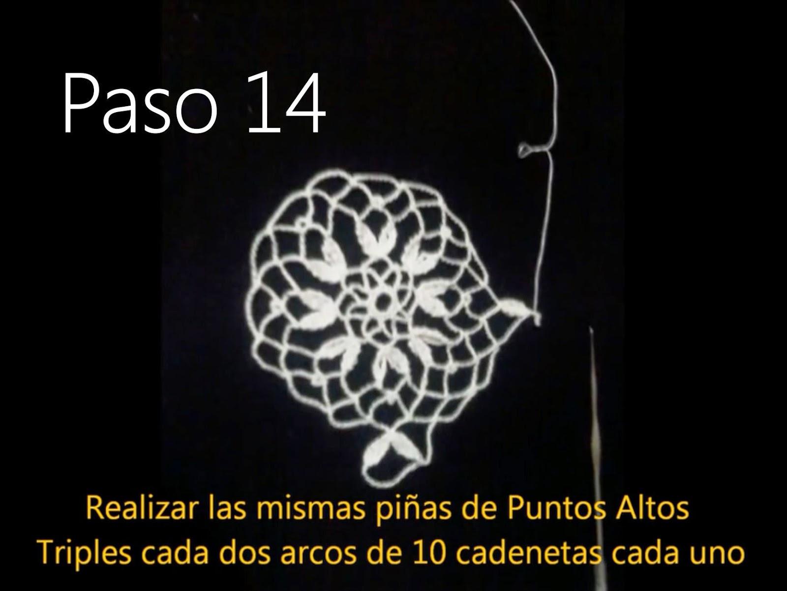 Tapete Flor Paso 14