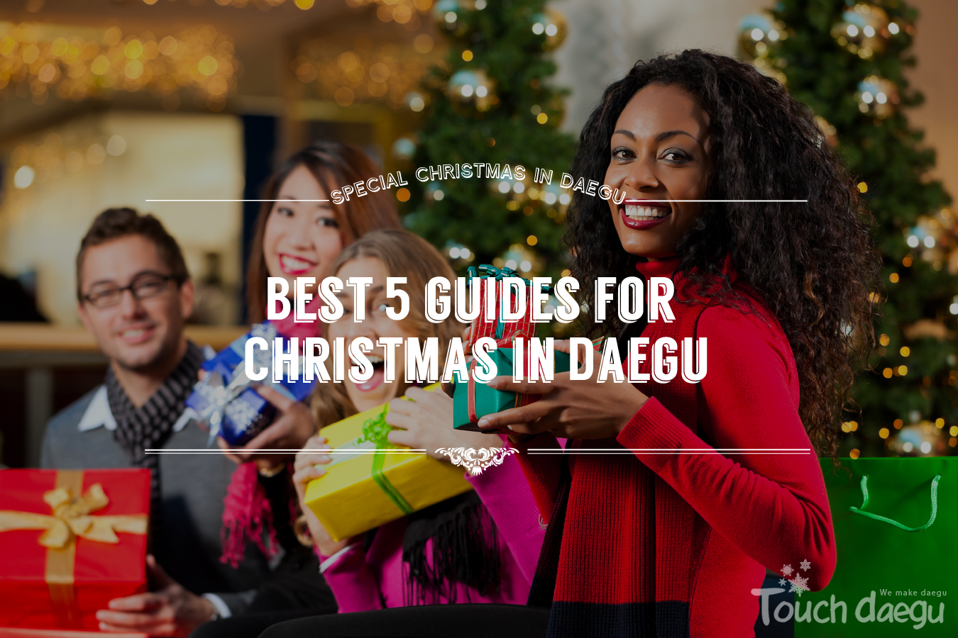Best 5 guides for Christmas in Daegu