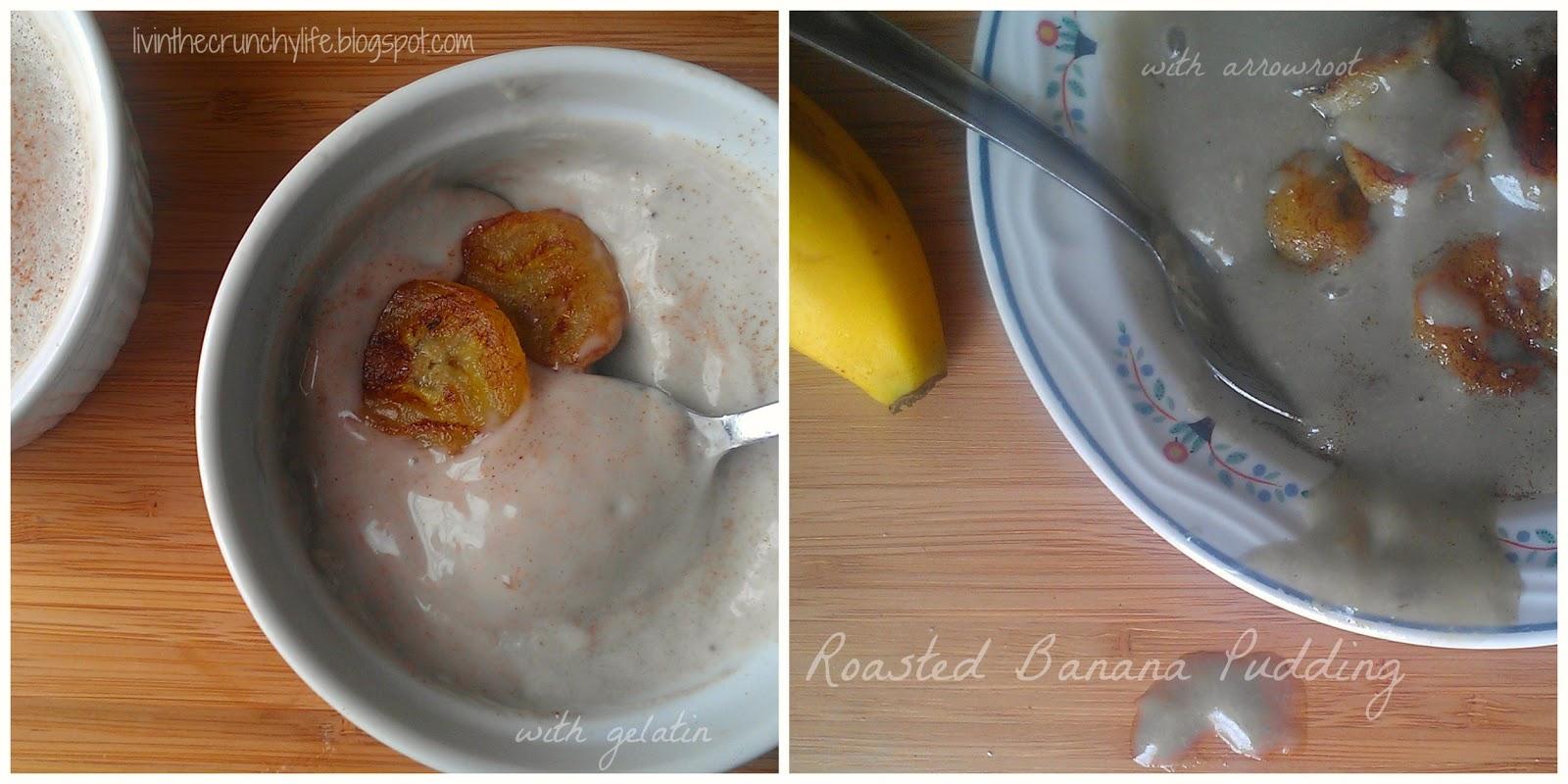 Banana Pudding: Two Ways (dairy/gluten-free, optional egg free)