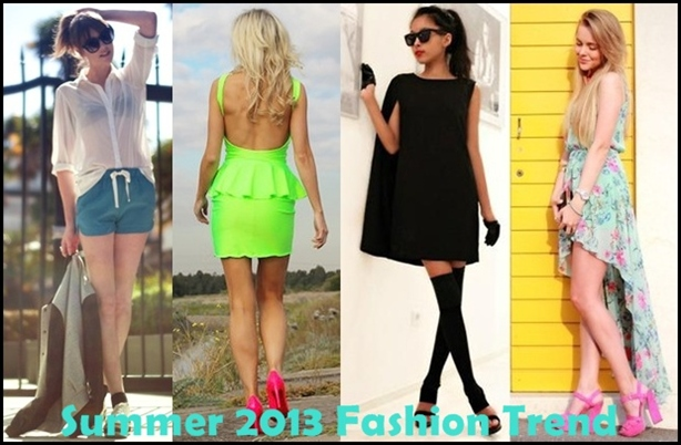 Spring summer 2013 fashion trends for women