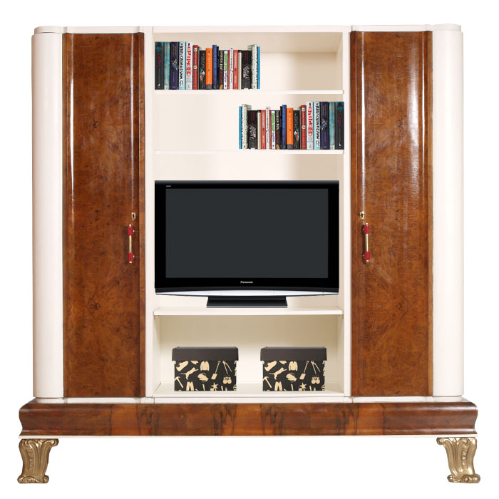 ... mobile soggiorno porta tv art decò descrizione imponente mobile porta