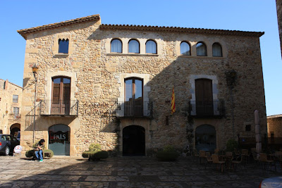 City Hall of Pals in La Costa Brava