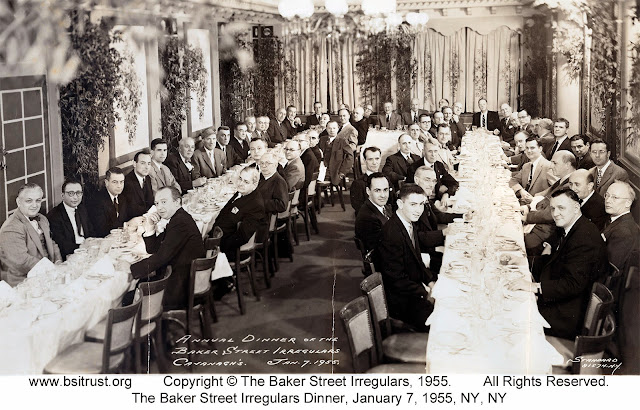 The 1955 BSI Dinner group photo
