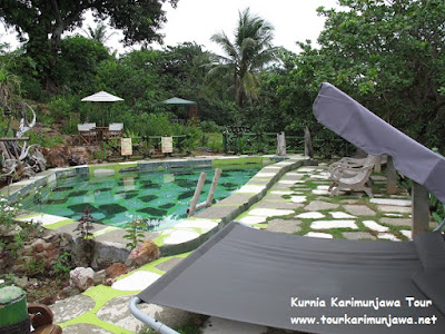 kolam renang di jiwa quest resort