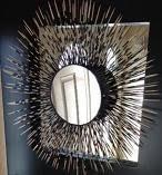 DIY Porcupine Mirror