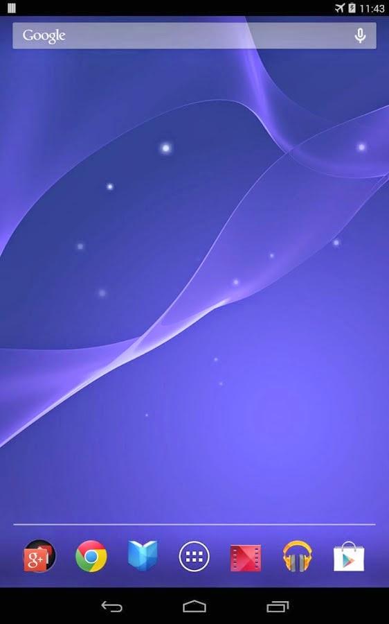Free Sony Xperia U Live Wallpapers