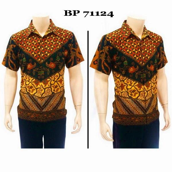 Baju Hem Batik Pria BP71124