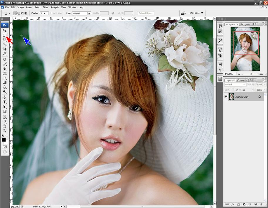 ILMU EDITING: Cara edit/merubah warna rambut (photoshop)