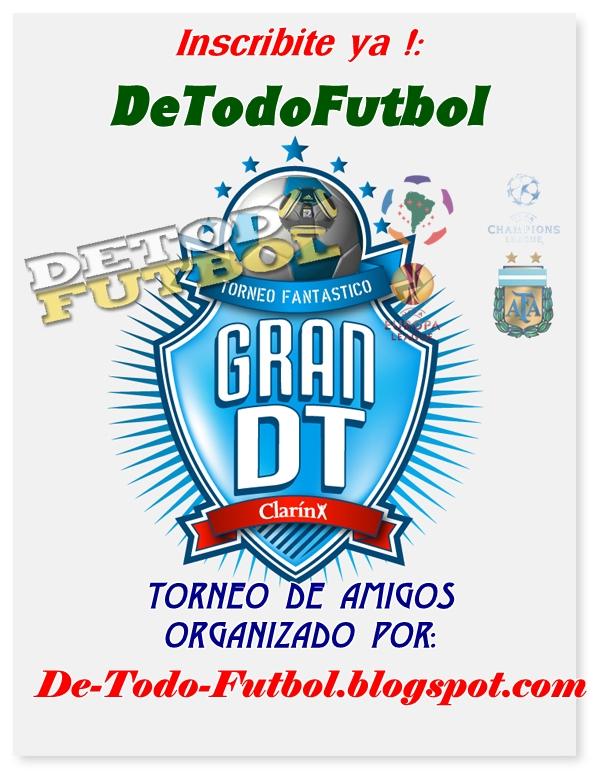 Ingresá tu Torneo de Amigos Clausura 2012 Detodo+futbol+gdt