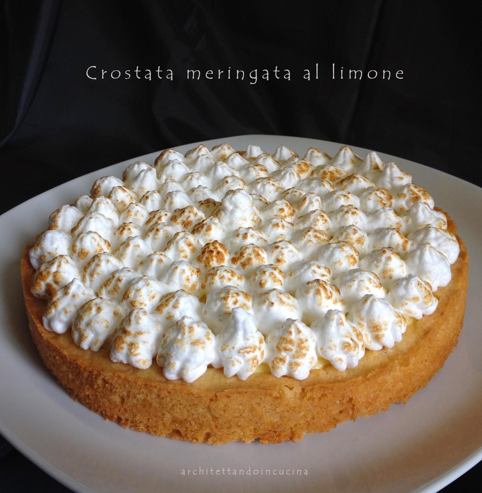 crostata meringata al limone -  lemon meringue pie di enrst knam