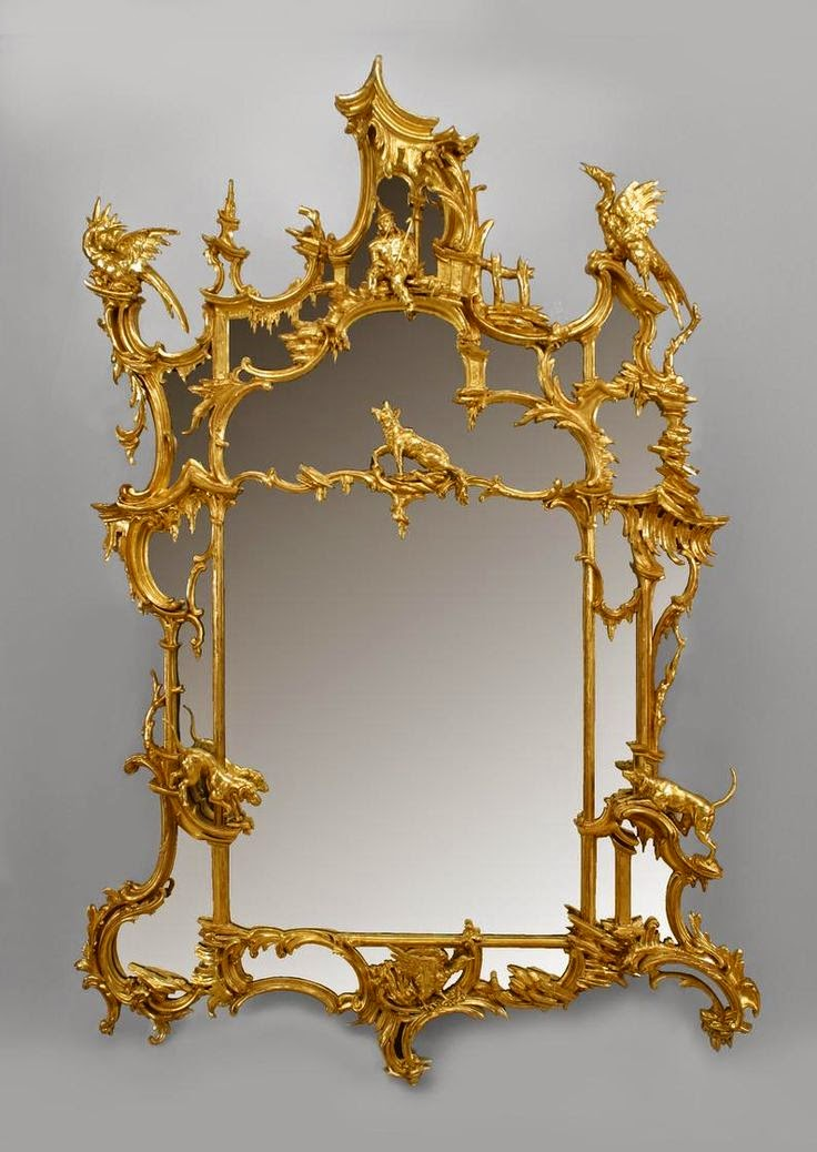 Eye for design decorating in chinese chippendale style for Asian style mirror