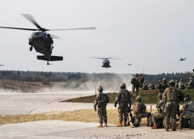 Military News - 4 Army units heading to Eastern Europe