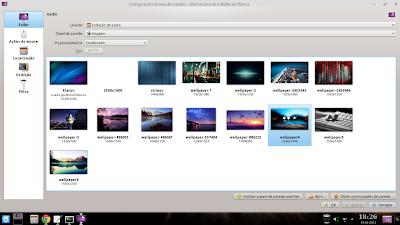 Seleção de Wallpapers do Diolinux OS 3