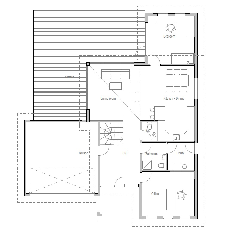 Australian house plans contemporary australian house oz18 for House plans australia
