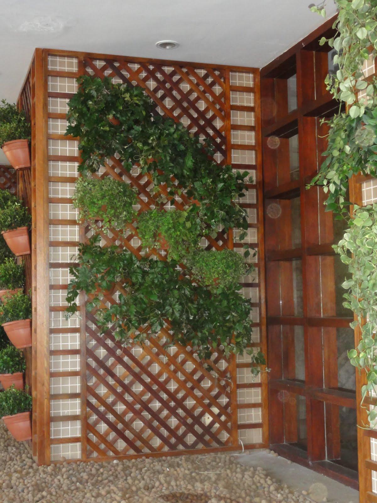 Treli?a madeira - Jardim Vertical : D?vidas gerais