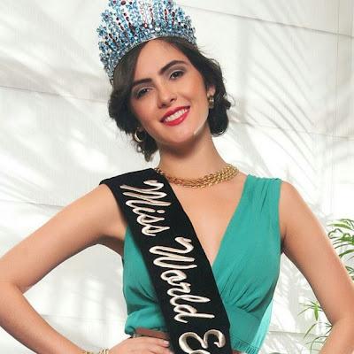 Miss World Ecuador 2013 winner Laritza Libeth Parraga Arteaga